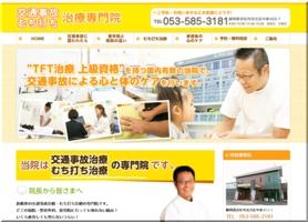 浜松市のむち打ち治療専門院
